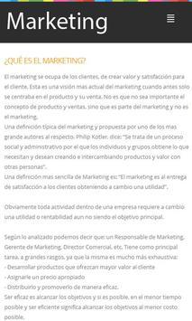 Marketing Tips apk screenshot