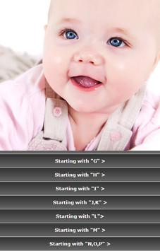 Bible Names for Babies apk screenshot