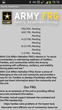 84th Civil Affairs Battalion apk screenshot