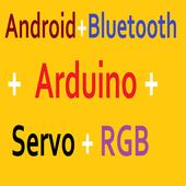 Bluetooth Servo RGB Arduino icon
