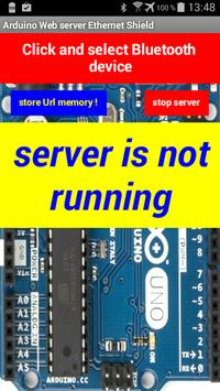 Arduino server Ethernet Shield poster
