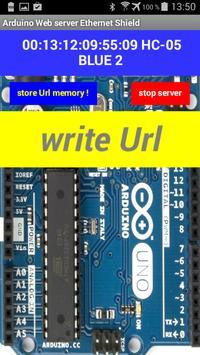Arduino server Ethernet Shield apk screenshot