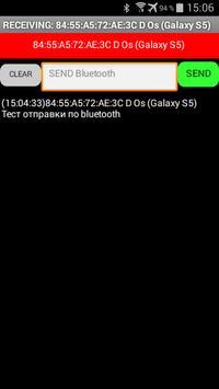 Bluetooth CHAT ☂REMOTE CONTROL apk screenshot