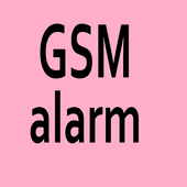 GSM Alarm SMS PHONE CALL icon