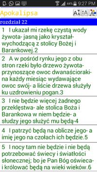 POLSKIE Biblia apk screenshot