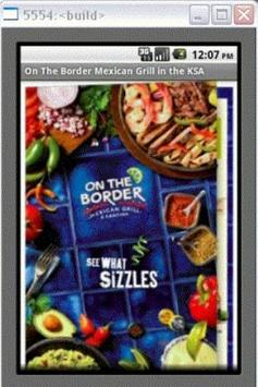 On the Border Mexican App poster