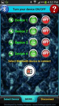 Bluetooth 4 Relays Control Pro poster