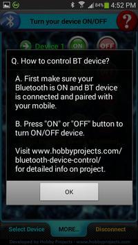 Bluetooth 4 Relays Control Pro apk screenshot