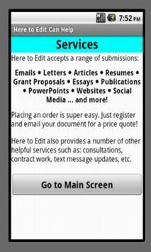 Here to Edit apk screenshot