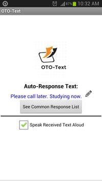 OTO-Text poster
