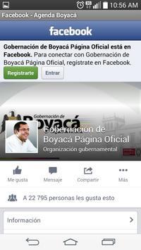Agenda Boyacá apk screenshot