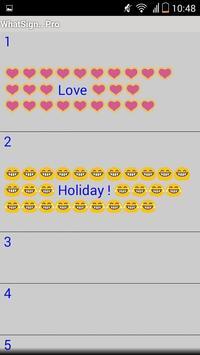 WhatSign.. Free apk screenshot