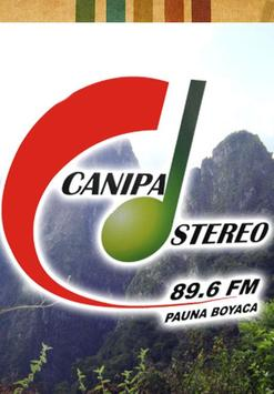Canipa Stereo 89.6 FM poster