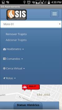 SIS Rastreamento apk screenshot