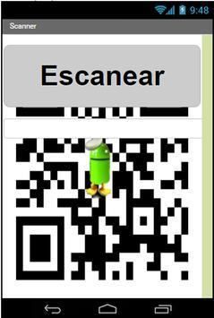 Escaner apk screenshot