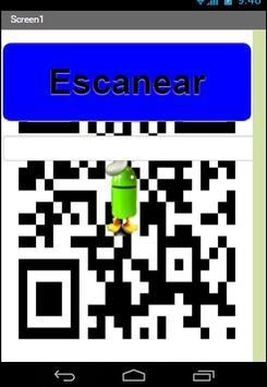 Scanner Codigos Qr y barras apk screenshot