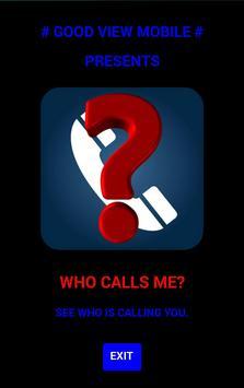 WHO CALLS poster