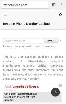 WHO CALLS apk screenshot