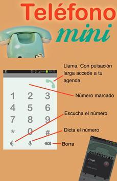 Teléfono Mini poster