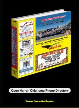 Harrah Oklahoma Phone Book poster