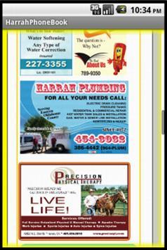 Harrah Oklahoma Phone Book apk screenshot