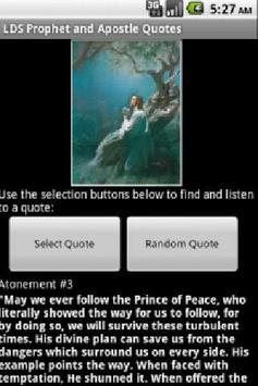 LDS Audio Quotes Lite apk screenshot