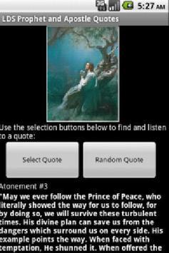 LDS Audio Quotes apk screenshot