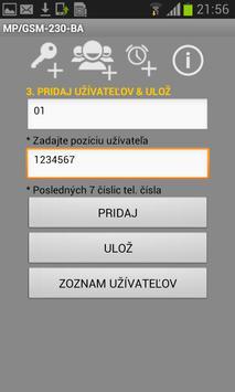 Umakov MP/GSM-230-BA apk screenshot