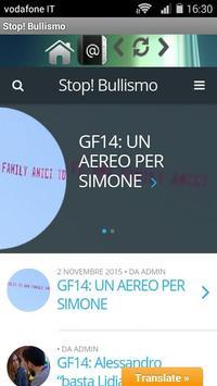 StopBullismo apk screenshot