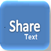 Share Text icon
