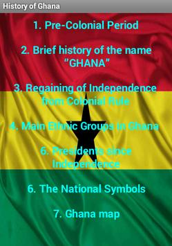 The History of Ghana poster