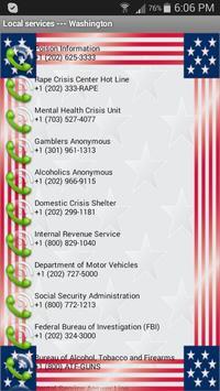 Washington Useful Phones apk screenshot