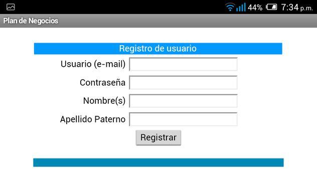 Plan de Negocios apk screenshot
