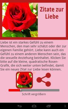 Zitate zur Liebe apk screenshot