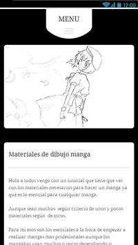 Dibujar Anime y Manga apk screenshot