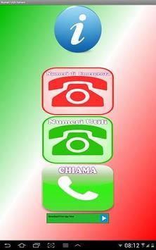 Numeri Utili Italiani poster