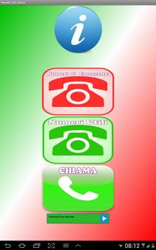 Numeri Utili Italiani apk screenshot