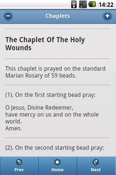 Catholic Chaplets 01 apk screenshot