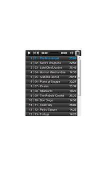 Captain Blood audiobook apk screenshot