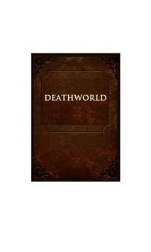 Deathworld by Harry Harrison poster