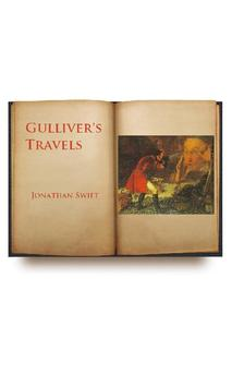 Gulliver's Travels audiobook poster
