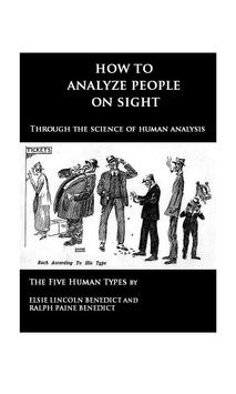 How to Analyze People (book) poster