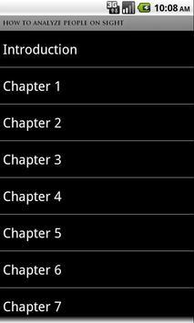How to Analyze People (book) apk screenshot