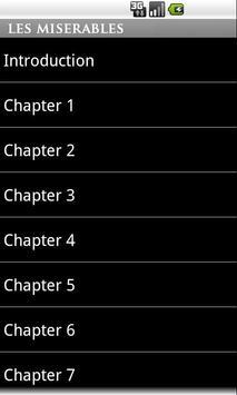 Les Miserables (book) apk screenshot