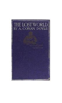 Lost World audiobook poster