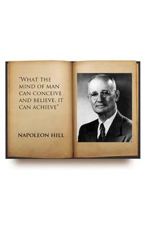 Napoleon Hill audiobook poster
