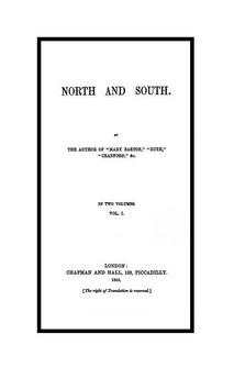 North and South audiobook poster