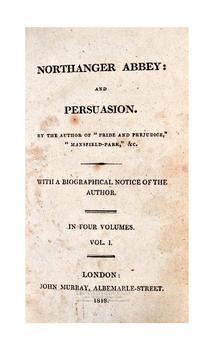 Persuasion audiobook poster