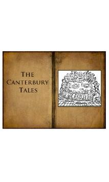The Canterbury Tales audiobook poster