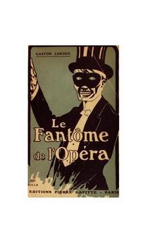 Phantom of the Opera audiobook poster